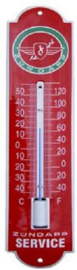 ZundappThermometer 6,5 x 30 cm.