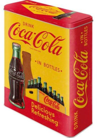 Coca Cola in Bottles Yellow  Bewaarblik