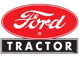 Ford Tractor Metalen wandplaat 38 x 30 cm.