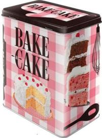 Bake a Cake Bewaarblik.