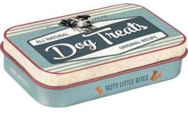Pet Treat Box Dog Treats Blue