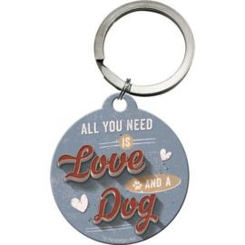 Love Dogs Sleutelhanger.