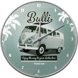 Volkswagen T1 Bulli Wandklok 31 cm