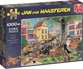Vang die Kat - Jan van Haasteren (1000)