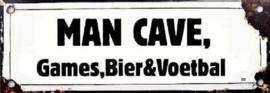 Man Cave Games Bier & Voetbal.