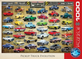 Pickup Truck Evolution Puzzel (1000)