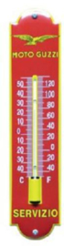 Moto Guzzi Thermometer 6,5 x 30 cm.