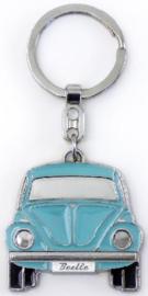 VW Kever Sleutelhanger Blauw.