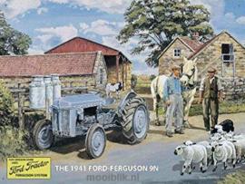 Ford-Ferguson 1941   9N Metalen wandbord40 x 30 cm