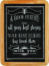 A Good Friend - best stories - 20 x 30 cm.