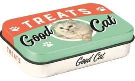 Pet Treat Box Good Cat.