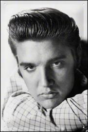 Elvis Presley  Metalen wandbord in reliëf 20 x 30 cm