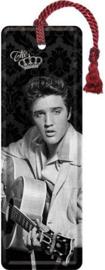 Elvis Presley Gitaar Metalen boekenlegger 15 x 5 cm.