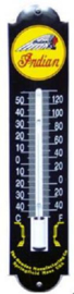 Indian Zwart Thermometer 6,5 x 30 cm.