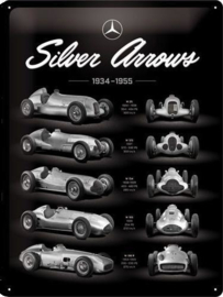Mercedes-Benz Silver Arrows Chart