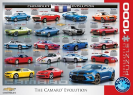 Chevrolet The Camaro Evolution Puzzel (1000)