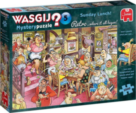 Zondagse Lunch! (1000) Wasgij Retro Original 5.