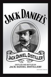 Jack Daniel's Distiller.   Spiegel 22 x 32 cm.