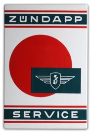 Zundapp Service Emaillebord 40 x 60 cm.