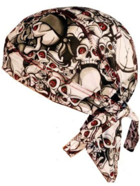 Bandana Red Eye Skull Orgy​ .