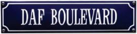 Daf Boulevard Emaille bordje.