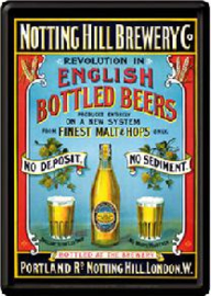Notting Hill Brewery Co  Postcard 10 x 14 cm.