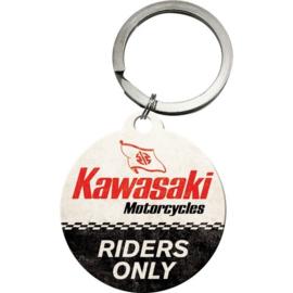 Kawasaki Riders Only Sleutelhanger.