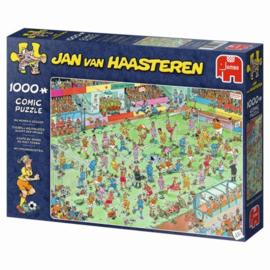 WK Vrouwenvoetbal - Jan van Haasteren (1000)