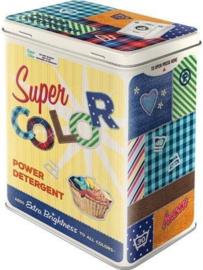 Super Color Power Detergent Bewaarblik
