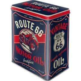 Route 66 Motor Oil  Bewaarblik