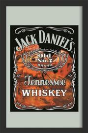 Jack Daniel's Tennessee.  Spiegel 22 x 32 cm.