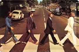 The Beatles  Metalen wandbord in reliëf 20 x 30 cm