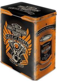 Harley Davidson Wild At Hearts Bewaarblik