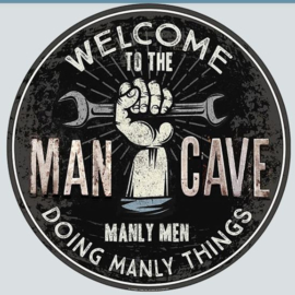 Welcome to the Man Cave. Manly men doing manly things.