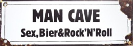 Man Cave Sex, Bier en Rock'N'Roll