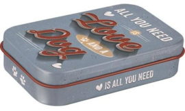 Pet Treat Box All You Need is Love enz..