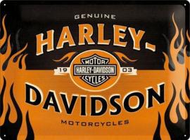 Harley-Davidson 1903Metalen wandbord inreliëf30 x 40 cm