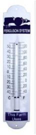 Ferguson Blauw Thermometer 6,5 x 30 cm.
