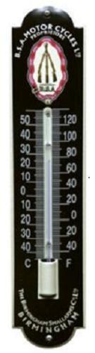 BSA Thermometer 6,5 x 30 cm.