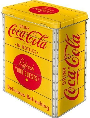 Coca Cola Yellow Bewaarblik .
