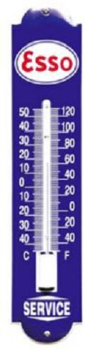 Esso Thermometer 6,5 x 30 cm.