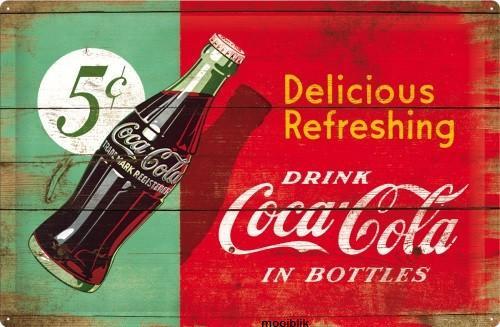Drink Coca Cola In Bottles Rood Groen 1950 Beverage.