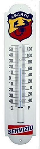 Abarth Servizio Thermometer 6,5 x 30 cm
