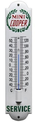 Mini Cooper Thermometer 6,5 x 30 cm