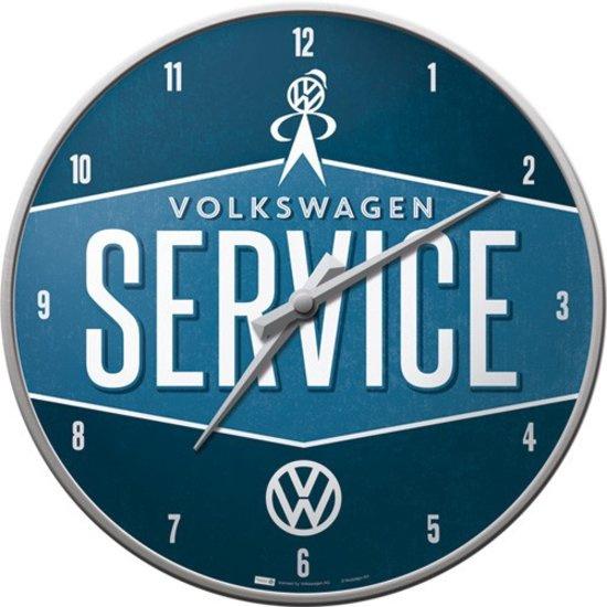 Volkswagen Service Wandklok 31 cm