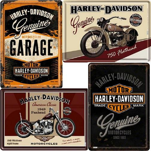 Harley Davidson Postcard