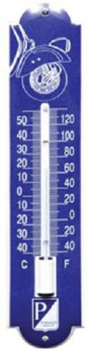 Vespa voorkant Thermometer 6,5 x 30 cm.
