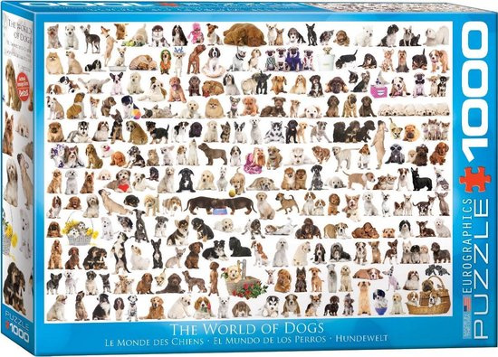 The World of Dogs Puzzel (1000)