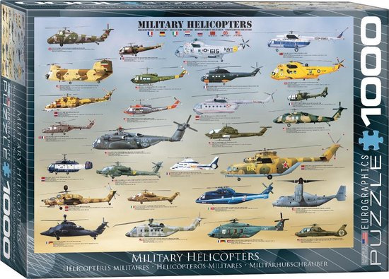 Military Helicopters (1000)