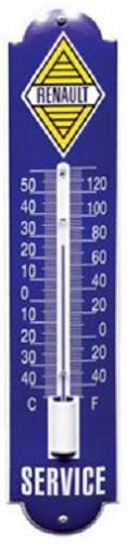 Renault Thermometer 6,5 x 30 cm.